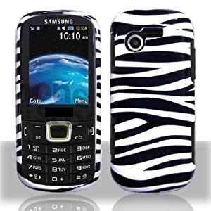 Samsung S425G SGH-S425G Zebra Faceplate Hard Shell Phone Case Cover Cell Phone Accessory