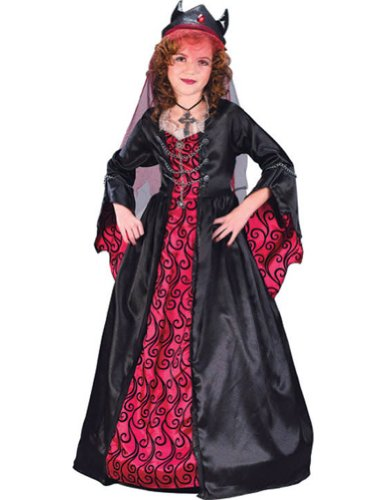 Bride Of Satan Child Md Kids Girls Costume