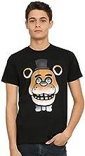 Five Nights At Freddy39s Freddy Fazbear Glow-In-The-Dark Face T-Shirt