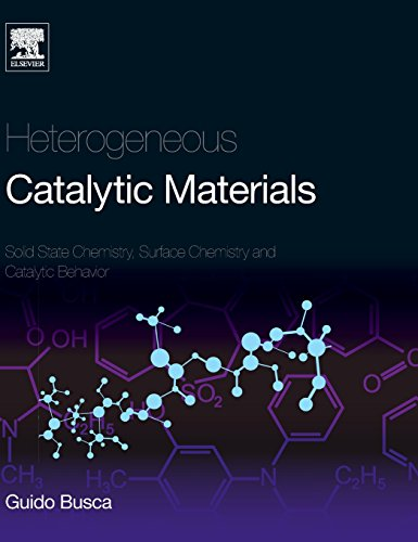 Heterogeneous Catalytic Materials: Solid State Chemistry, Surface Chemistry And Catalytic Behaviour