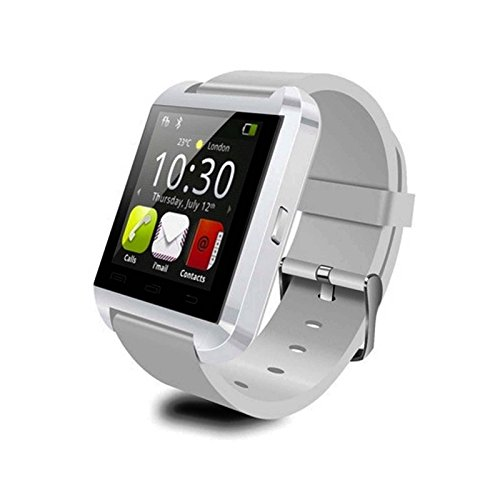 [Prime] White Bluetooth Android Smart Mobile Phone U8 Wrist Watch Watches For Ios Iphone Samsung Lg Watch Mens Women