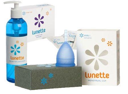 Lunette Selene Menstrual Cup Lunette Blue Selene Menstrual