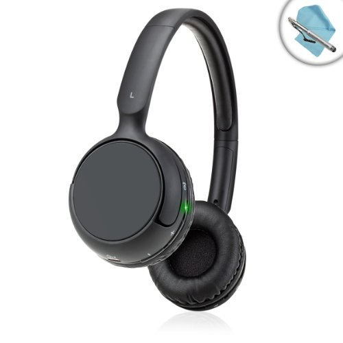 Gogroove Bluevibe Rlx Wireless Comfortfit Bluetooth Headphones W/ Wireless Playback Controls - Works Great With Samsung Galaxy Tab 3 , Apple Ipad Mini , Chromo Inc. , Dell Venue 8 Pro & More - Bonus Cleaning Cloth + Stylus