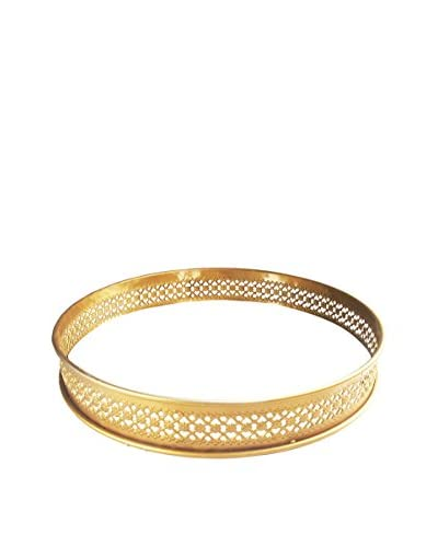American Atelier Round Tray, Gold