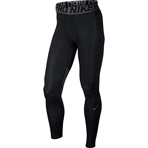 Nike Collant contenitivi Hyper cool, 801225, Uomo, Hypercool, Grigio scuro/nero, 2XL