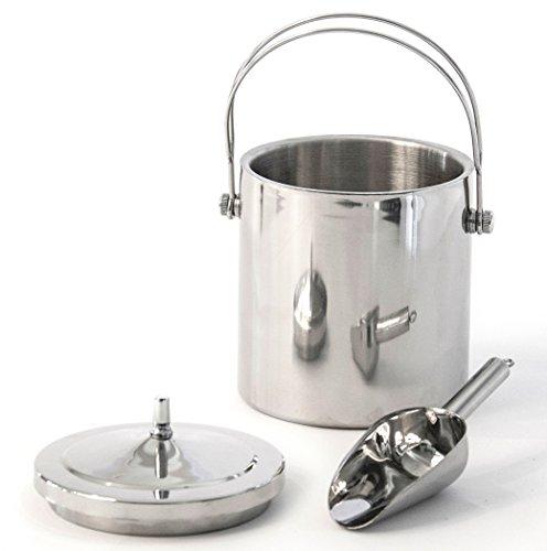 Premium Stainless Steel Ice Bucket Amp Scoop Quality Double