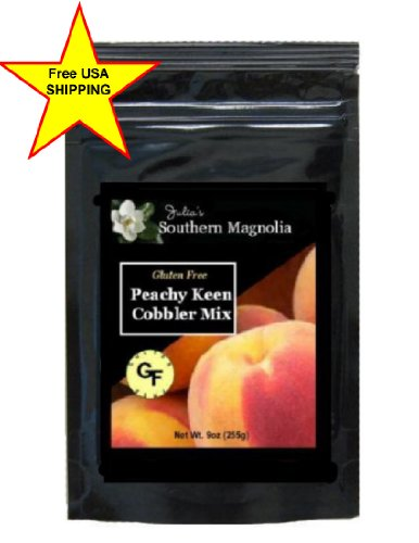 Gluten Free Peach Cobbler Mix 9oz Bag
