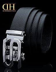 Demon&Hunter Luxury Series Men's Belt DH806B(Black/110CM)