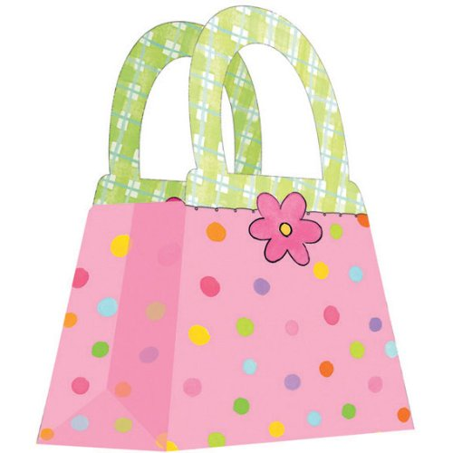 Polka Dot Treat Bags (4 count)