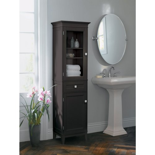 Bathroom Cabinets Fieldcrest Armoire Espresso