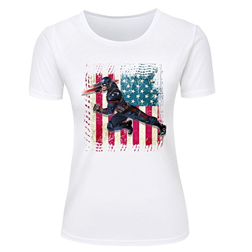 Avengers-superhero-graphic-printed-womens-cotton-t-shirt-black-white