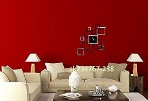 rahmenlose wanduhr modern gro es design uhren. Black Bedroom Furniture Sets. Home Design Ideas