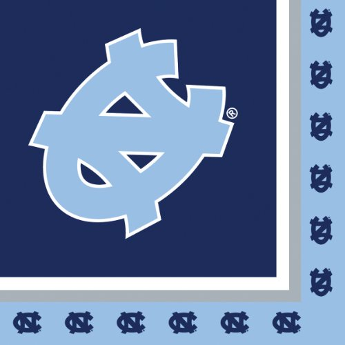 Creative Converting North Carolina Tar Heels Luncheon Napkins (20 Count)