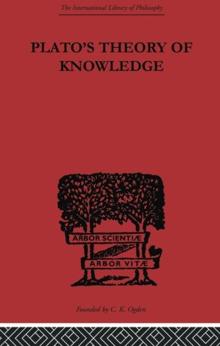 Plato's Theory of Knowledge (International Library of Philo)