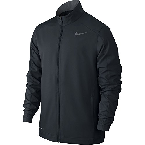 Men's Nike Team Woven Jacket Black/Cool Grey Size X-Large