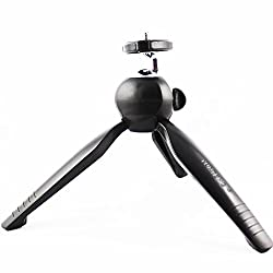 Yunteng Mini Tripod Universal YT-228 For Digital Camera & All Mobile Phones- Black
