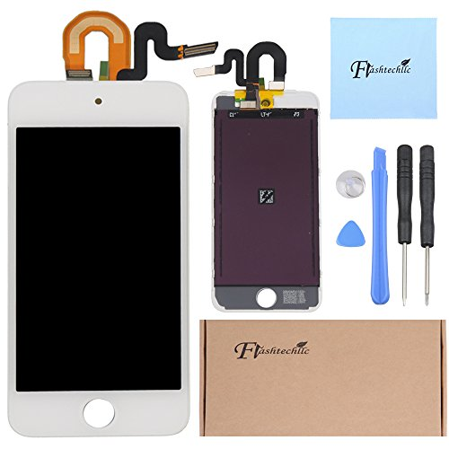 White Lcd Display Front Touch Screen Digitizer Assembly For Ipod Touch 5Th Oem