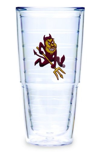 Tervis Tumbler Arizona State University-Sparky 24-Ounce Double Wall Insulated Tumbler, Set of 2