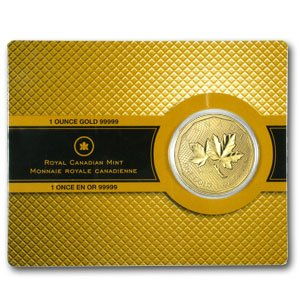 2008 - (1 oz) Gold Maple Leaf (Special .99999 Variety)