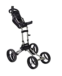 Bag Boy Quad Push Cart (Silver)