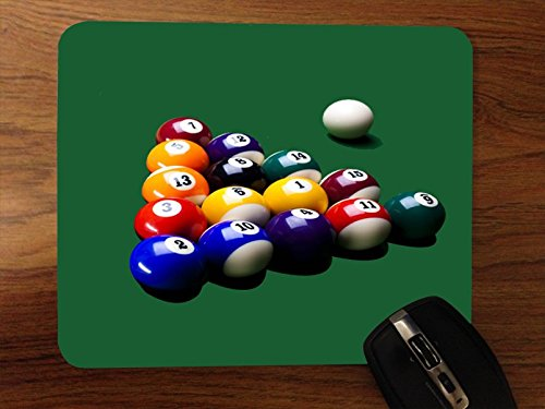 Pool Table Desktop Mouse Pad