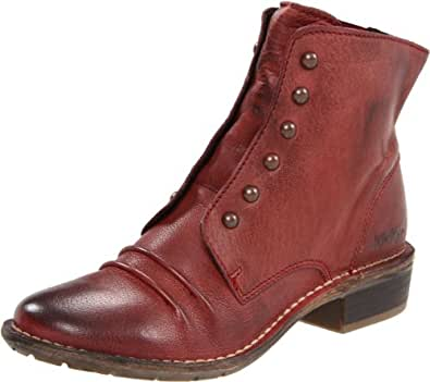 Kickers Women's Georges Ankle Boot,Burgandy,40 EU/9.5 M US