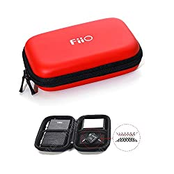FiiO HS7 Dual-layered Hard Carrying Case in Red