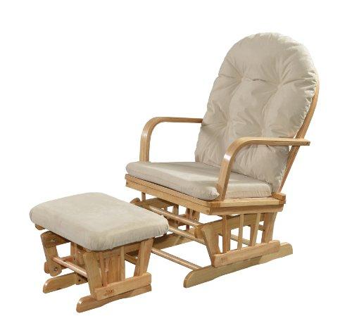 Kub Charnwood Glider and Footstool Upholstery (Cream)