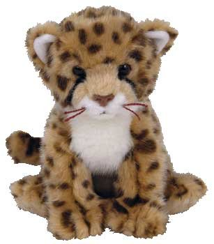 Ty Beanie Baby - Chitraka The Cheetah (Internet Exclusive) front-965494