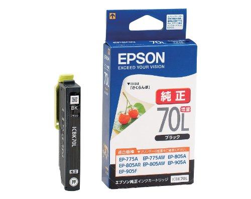 EPSON ink cartridge ICBK70L black bulking