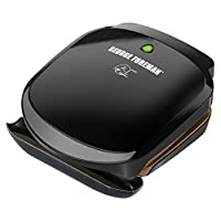 George Foreman GR136B 2-Serving Classic Plate Grill and Pannini Press, Black from Applica Incorporated/DBA Black and Decker