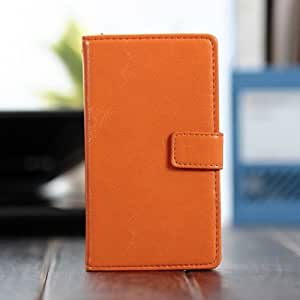 Ultra Slim PU Leather Stand Case Cover For Nokia 920 -Orange