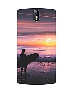 Mobifry Back case cover for One Plus One Mobile (Printed design)