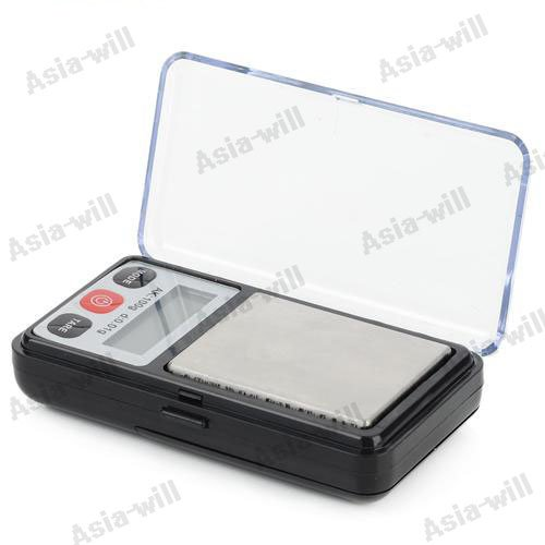 Mini LCD Display Backlit Portable Digital Scale (100g / 0.01g / 2 x AAA) mini precision 1 4 lcd digital jewelry scale 2 x aaa