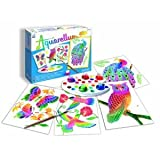 SentoSphere In the Park Aquarellum Artistic Junior Watercolor Art Kit with 4 magic canvases