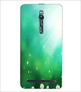 PrintDhaba Pattern D-2201 Back Case Cover for ASUS ZENFONE 2 (Multi-Coloured)