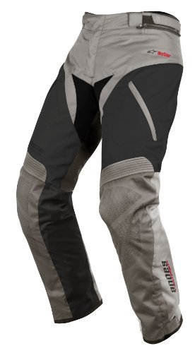 Alpinestars Andes Drystar Pants , Gender: Mens/Unisex, Primary Color: Gray, Size: Lg, Distinct Name: Gray/Black, Apparel Material: Textile 3227513-921-L