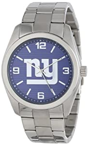 Game Time Unisex NFL-ELI-NYG Elite New York Giants 3-Hand Analog Watch by Game Time