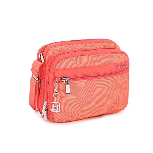 hedgren-sacs-bandouliere-femme-vert-lines-rose-print-taille-unique