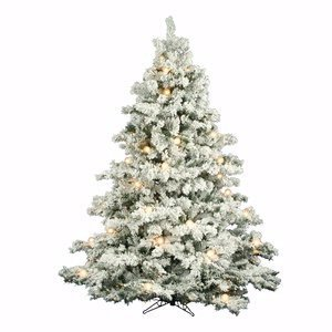 Alaskan Pine 7.5 Foot Premium Flocked/Frosted