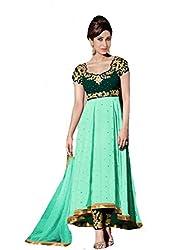 Shayona Salwar suit for women & girls(green)
