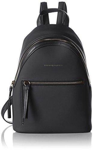 Tommy Hilfiger Damen Love Mini Backpack Solid Rucksackhandtaschen, Schwarz (Black / Logo 904 904), 24x28x12 cm thumbnail