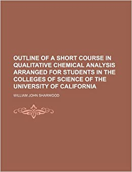qualitative chemistry coursework Qualitative chemical analysis: qualitative chemical analysis, branch of chemistry that deals with the identification of elements or grouping of elements.