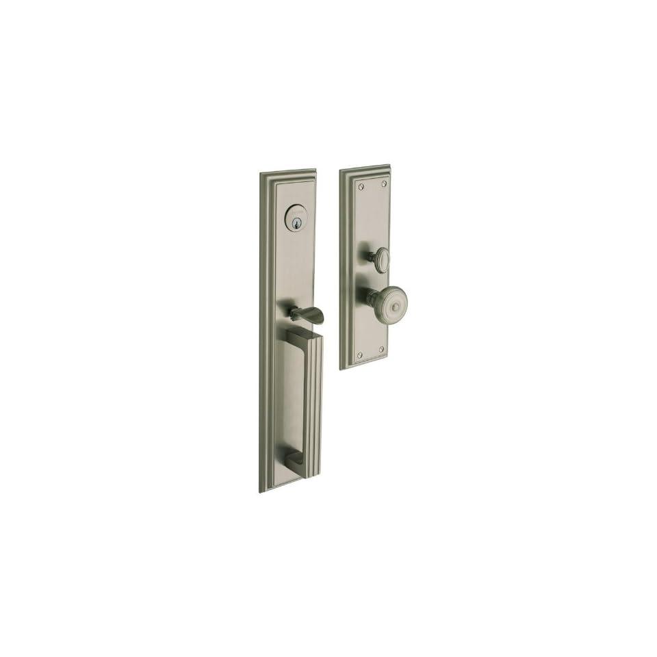 Baldwin Hardware 6542.150.DBLC Tremont set Trim Front Door Handle