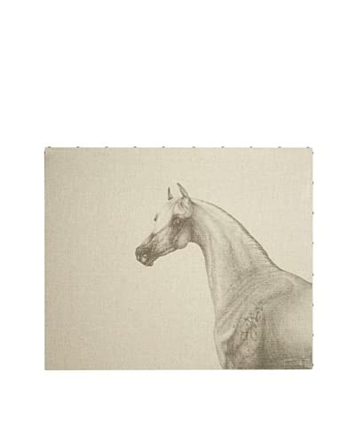 French Linen Collection Portrait of a Horse Tapestry
