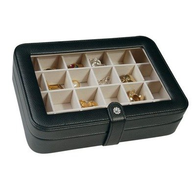 Earring Organizer and Travel Jewelry Case