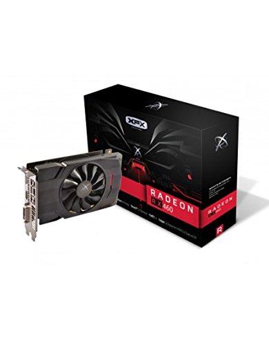 XFX Radeon Rx 460 Single Fan 4GB GDDR5 True OC 1220MHz Displayport HDMI DVI Graphics Cards RX-460P4SFG5