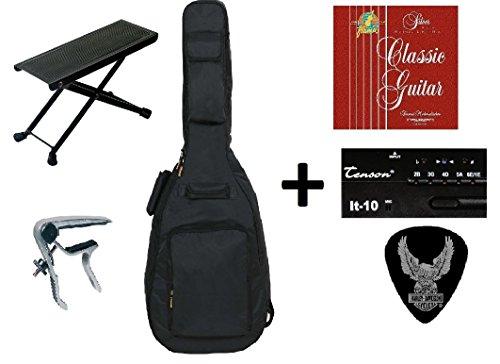 zound-house-all-access-guitare-de-concert-3-4-pack-accessoires-compose-de-guitare-avec-dos-rembourre