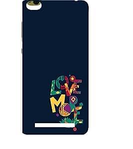 EPICCASE love more Mobile Back Case Cover For Xiaomi 3S Prime (Designer Case)