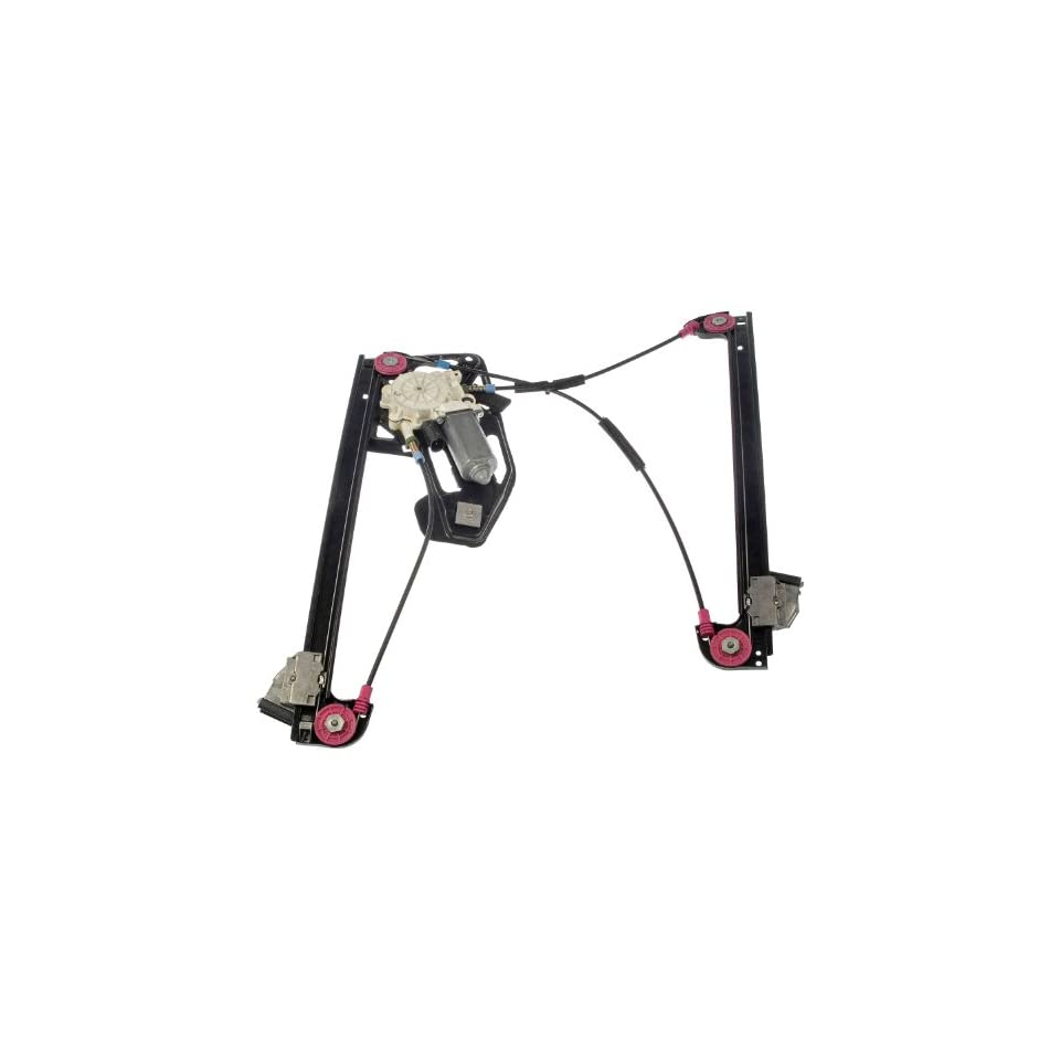 Dorman 741 482 Front Driver Side Replacement Power Window Regulator with Motor for BMW 7 Series